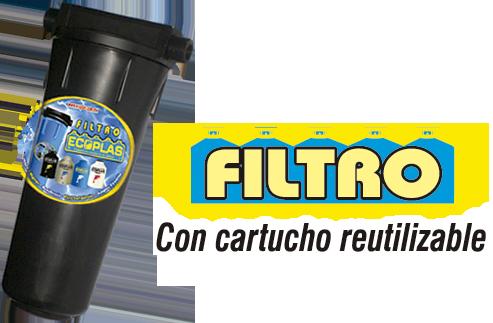 Filtro Ecoplas paso 1